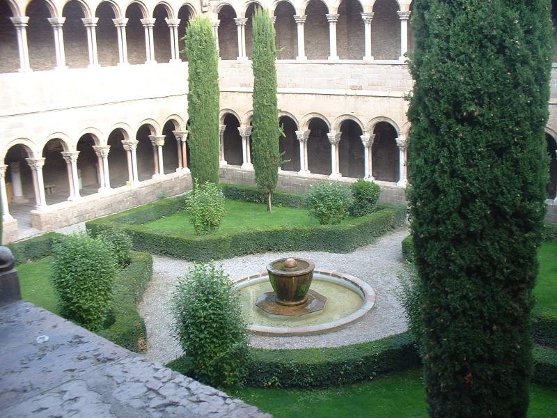 Claustra De Jardin : monasterio de santa maria de ripoll claustro ~ Premium-room.com Idées de Décoration